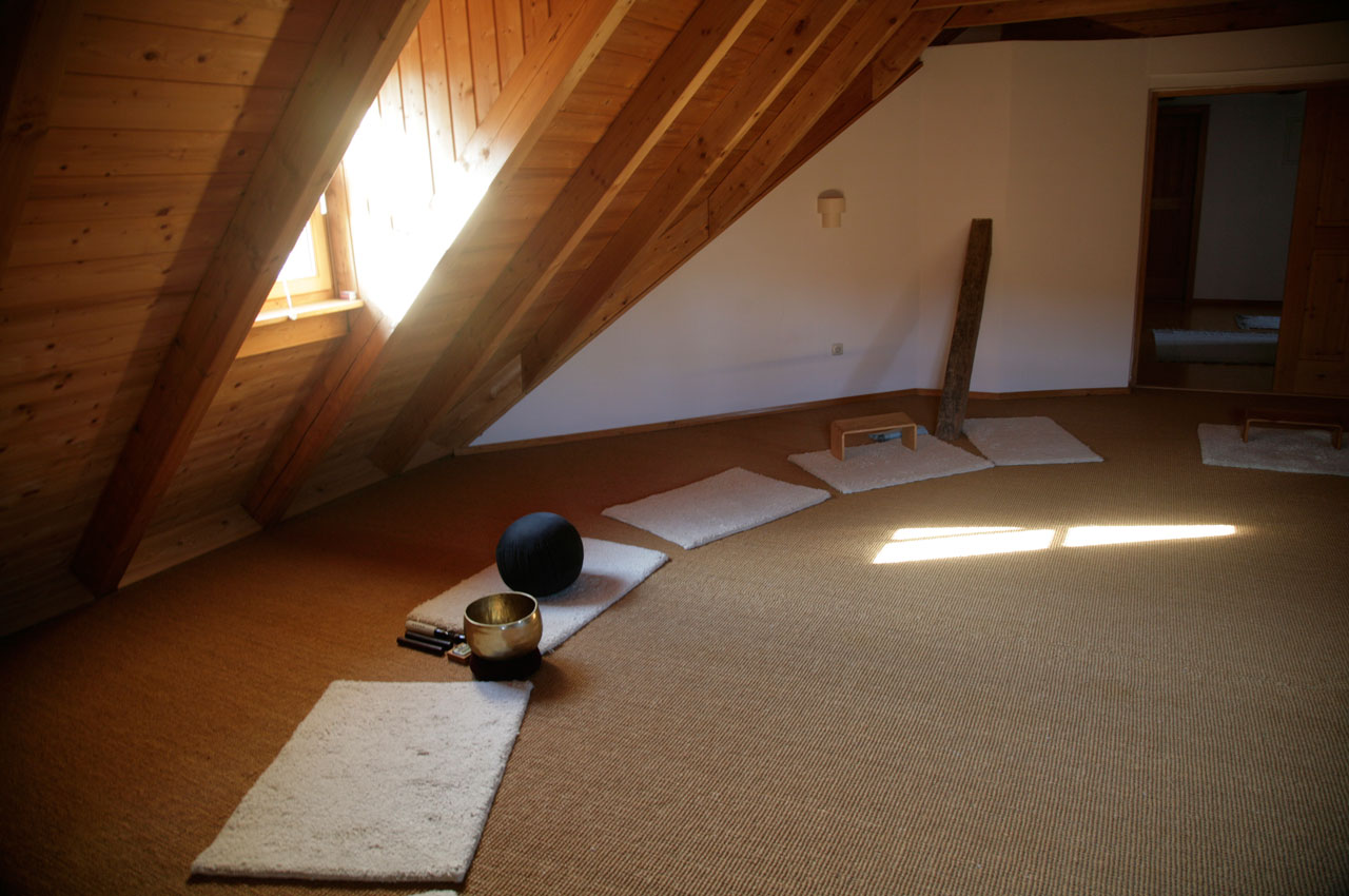 ... Der Große Meditationsraum ...